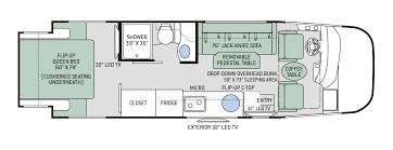 Fleetwood Bounder Floor Plans by 2017 Fleetwood Bounder Motor Home Class A Rental In Meridian Id