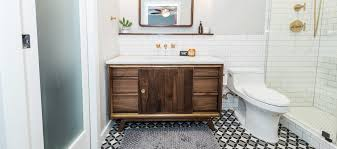Mid Century Modern Bathroom Midcentury Modern Bathroom Before After Irwin Construction