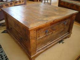 Rustic Square Coffee Table With Storage 2018 Popular Rustic Square Coffee Table With Storage