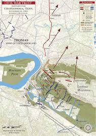 map of chattanooga tn battle of lookout mountain november 24 1863 civil war trust