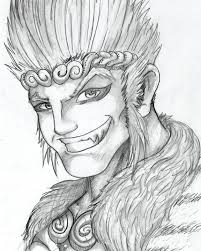 sun wukong 15 min sketch by gundamjack on deviantart