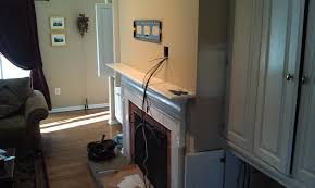 wall mounted tv hiding cables wallingford ct mount tv on wall home theater installation