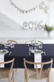 Best New Year Table Decorations by Holiday Table Setting With Balloons Centerpiece Dinner Party