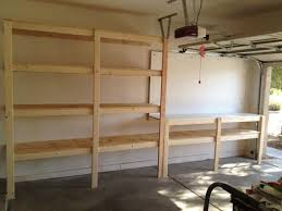 Wooden Garage Storage Cabinets Plans by Best 25 Building Garage Shelves Ideas On Pinterest Garage