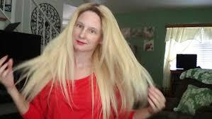 Really Cheap Human Hair Extensions by Stephanie Wig Human Hair Makeover Elegante 613 Bleach Blonde H H