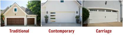 garage door styles and materials for exterior home design door