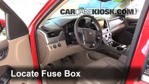 Chevy Tahoe 2014 Interior Interior Fuse Box Location 2014 2016 Chevrolet Tahoe 2015