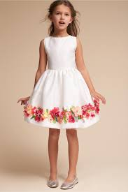 flower girl dresses beatrix dress white multi in sale bhldn