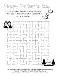 printable fathers maze printables kids u2013 free word