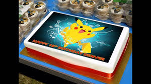 pokemon cake decorations ideas youtube