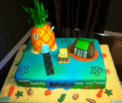 spongebob birthday cakes jocelyn s wedding cakes and more spongebob cake markham 1st
