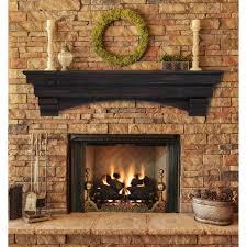 brick fireplace mantel shelf internet hereus how to build a