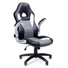 songmics chaise de bureau fauteuil de bureau siège pu hauteur