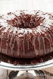 chocolate cognac bundt cake chew out loud