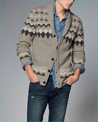 abercrombie u0026 fitch 2016 fall winter men u0027s shawl cardigans