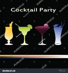 vector cocktails menu margarita blue hawaii stock vector 487339837