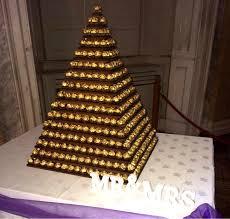 ferrero rocher tower dartford pre filled sweet cones u0026 sweet cakes