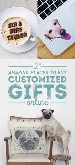 25 unique custom gifts ideas on wishlist shopping
