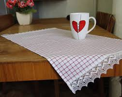 checkered placemats etsy