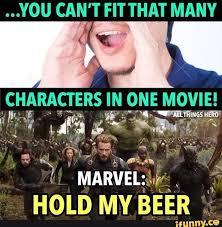 Avengers Meme - found on hilarious marvel and marvel dc
