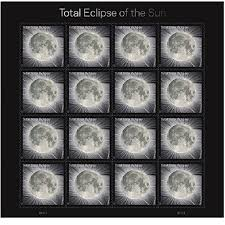 amazon com total eclipse of the sun usps forever stamps sheet