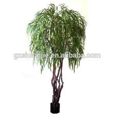 sjzzy guangzhou different style artificial weeping willow tree