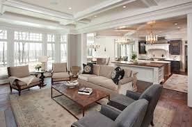fancy kitchen and living room design kitchen living room design