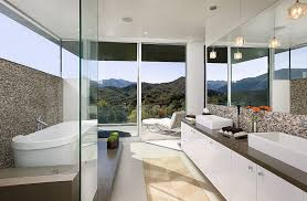 Open Bathroom Design Framed To Perfection 15 Bathrooms With Majestic Mountain Views