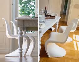 White Chair Panton Chair Hivemodern Com
