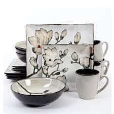 gibson claretta 16 dinnerware set