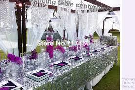 Wedding Chandelier Centerpieces Aliexpress Com Buy Crystal Table Top Chandelier Centerpieces For