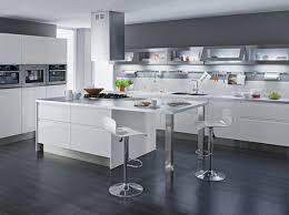cuisine blanc laqué étourdissant cuisine blanche laquée et cuisine blanc laqu laquee
