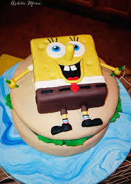 spongebob cake ideas spongebob krusty burger birthday cake ashlee
