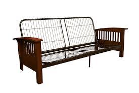 amazon com epic furnishings brentwood mission style futon sofa