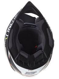 motocross helmet visor oneal black white 2018 7series evo chaser mx helmet oneal