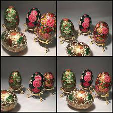 ornamental eggs ebay
