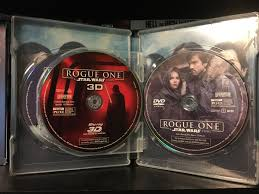 Video One 3d Rogue One A Star Wars Story Collectible Packaging And 3d Blu
