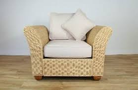 english rattan arm chair with cushion woven indoor furniture sofa