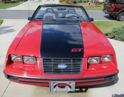 Affordable Classic Cars - 1984 ford mustang gt convertible classiccars com journal