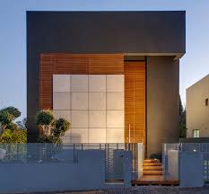 this small modern home in tel aviv boasts big eco friendly