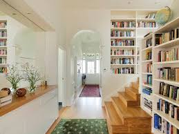 White Bookcase Melbourne Built In Bookcases Melbourne Staircase Traditional With Front Door