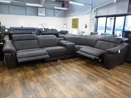 Natuzzi Sofa Sale Uk Bianco Italian Leather Electric Reclining Modular Corner Sofa In