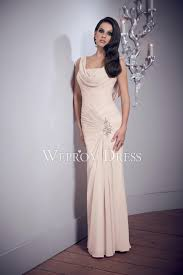 ivory color shirring chiffon pink color nice party dress