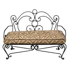 wrought iron bench ideas for every room artisan crafted iron