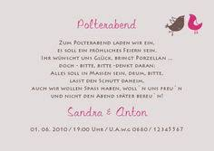 einladung polterabend 01 din lang products - Einladungskarten Polterabend