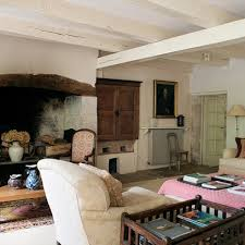 rustic french living room country living rooms houseandgarden