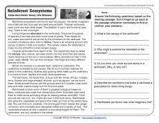 reading comprehension worksheets grade 7 free worksheets library