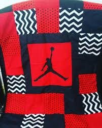 How To Sew A Flag Awesome Jordan Baby Blanket How To Make A No Sew Jordan Baby