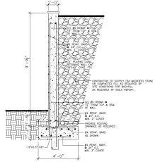 Retaining Wall Footing Design Reinforced Concrete Wall Design - Concrete retaining walls design