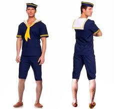 Popeye Halloween Costume Aliexpress Buy Dancerdog1302 Men U0027s Dress Navy